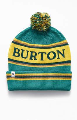 Burton Teal Trope Pom Beanie