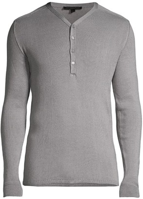 John Varvatos Adrian Cotton Henley