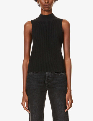 Reformation Montaigne sleeveless organic-cotton jumper