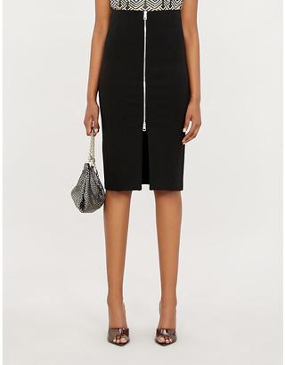 Pinko Sagomare stretch-ponté pencil skirt