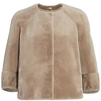 The Fur Salon Julia & Stella For Collarless Mink Jacket