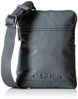 Calvin Klein Men's Metro Mini Messenger Grey Size: