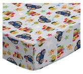 SheetWorld Fitted Pack N Play Sheet - Cars & Dogs - Made In USA - 29.5 inches x 42 inches (74.9 cm x 106.7 cm)