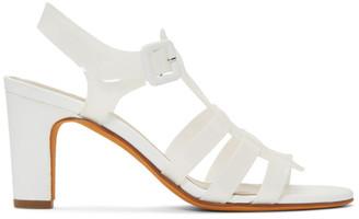 Maryam Nassir Zadeh White Paros Sandals