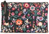 RED Valentino floral print clutch