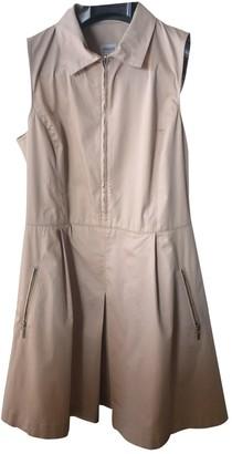 Armani Collezioni Beige Cotton Dress for Women