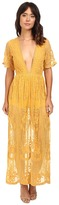 Brigitte Bailey Joana Lace Maxi Dress
