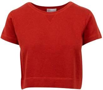 RED Valentino Orange Cashmere Knitwear for Women