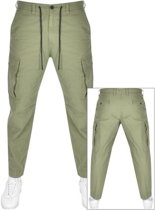 BOSS Casual Sargo Combat Trousers Khaki