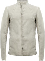 Masnada lightweight fitted jacket - men - Cotton/Linen/Flax - 48