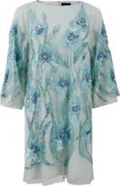 Marchesa Embroidered Tunic Dress