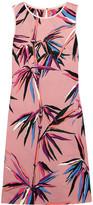 Emilio Pucci Printed Crepe Dress - Pink