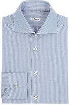 Kiton Men's Striped Shirt-BLUE