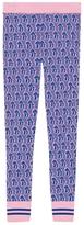 Gucci Mushrooms Jacquard Knit Legging