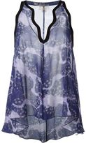 Giambattista Valli floral print sleeveless top