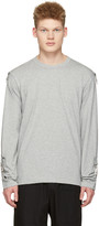 Comme des Garcons Grey Adjustable Sleeves T-Shirt