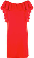 P.A.R.O.S.H. ruffled shift dress - women - Polyester - M