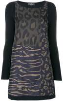 Salvatore Ferragamo animal print blouse