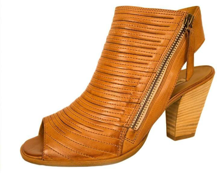 Paul Green Leather Camel Bootie