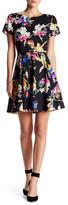 Yumi Kim Short Sleeve Fit & Flare Dress