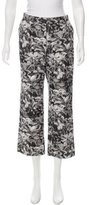 Dries Van Noten Printed Flared Pants