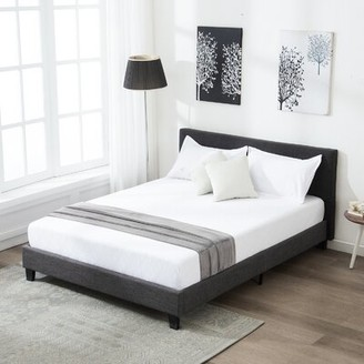 Moison Upholstered Platform Bed Winston Porter Size: Queen