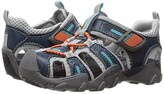 pediped Canyon Flex (Toddler/Little Kid/Big Kid) (Teal/Orange) Boys Shoes