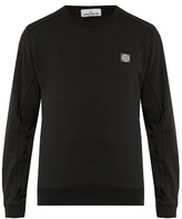 Stone Island Crew-neck Fleece-back Sweatshirt