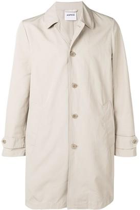 Aspesi Button-Up Parka Coat