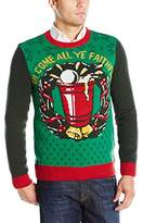 Ugly Christmas Sweater Men's Oh Come All Ye Faithful