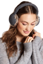 Collection XIIX Waffle Knit Faux Fur Earmuff