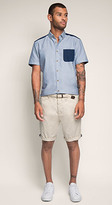 Esprit OUTLET bermuda short with woven belt