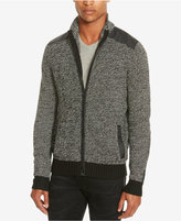 Kenneth Cole Reaction Men's Marled Zip-Front Cardigan