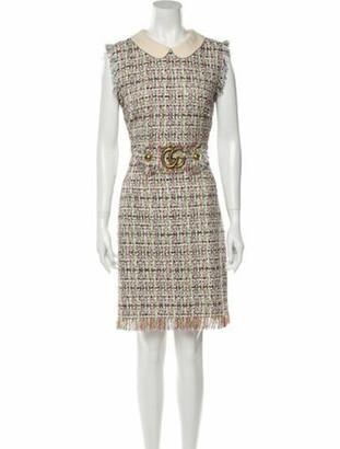 Gucci 2018 Knee-Length Dress w/ Tags Green