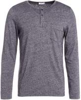 Closed Long Sleeved Top Grey Melange