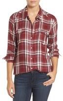 Paige Women's Mya Plaid Shirt
