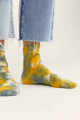 Richer Poorer Pysch Tie Dye Socks