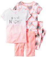 """Carter's Girls 4-12 Good Night"""" Ombre Pajama Set"""