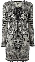 Roberto Cavalli patterned dress - women - Polyester/Viscose - 42