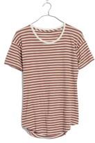 Madewell Women's Stripe Whisper Cotton Crewneck Tee