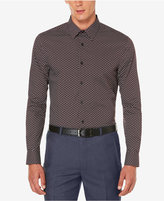 Perry Ellis Men's Big & Tall Micro-Floral Print Shirt, A Macy's Exclusive Style