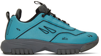 all in SSENSE Exclusive Blue XP Sneakers
