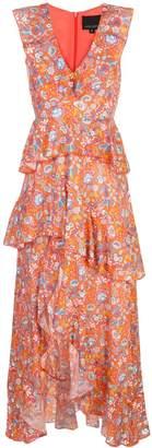 Cynthia Rowley Savannah Tiered Maxi Dress