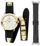 Fendi Selleria Leather Strap Watch Set, 36mm