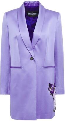 Just Cavalli Embellished Satin Blazer
