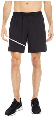 Puma Run Woven 7 Shorts Black) Men's Shorts