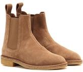 Bottega Veneta Suede Chelsea Ankle Boots