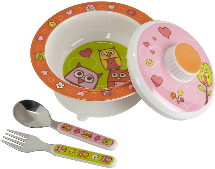 SugarBooger by O.R.E. Suction Bowl Set - Cupcake