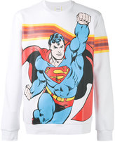 Iceberg Superman print sweatshirt - men - Cotton/Polyamide/Polyester - S