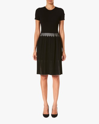 Carolina Herrera Fit Flare Dress